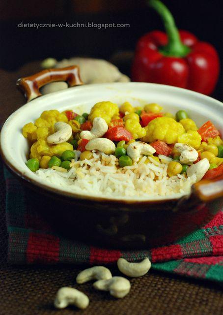 Moje Dietetyczne Fanaberie: Wyzwanie roślinne 2/7 - łatwe, wegańskie curry