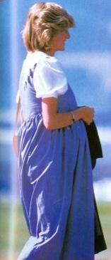 August 20, 1984: Princess Diana arrives at Aberdeen Airport, Scotland.