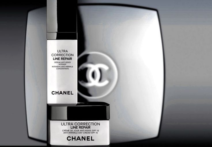 Chanel Ultra Correction Line Repair Serum Intensive Concentrate and Day Cream