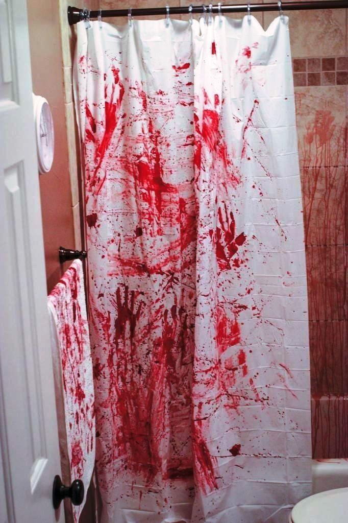 Halloween Dekorationen Badezimmer, um Ihre Gäste zu