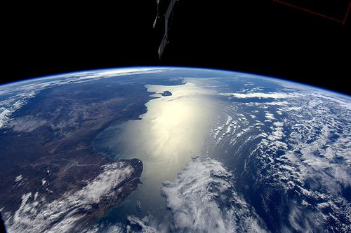 Argentinian coast line