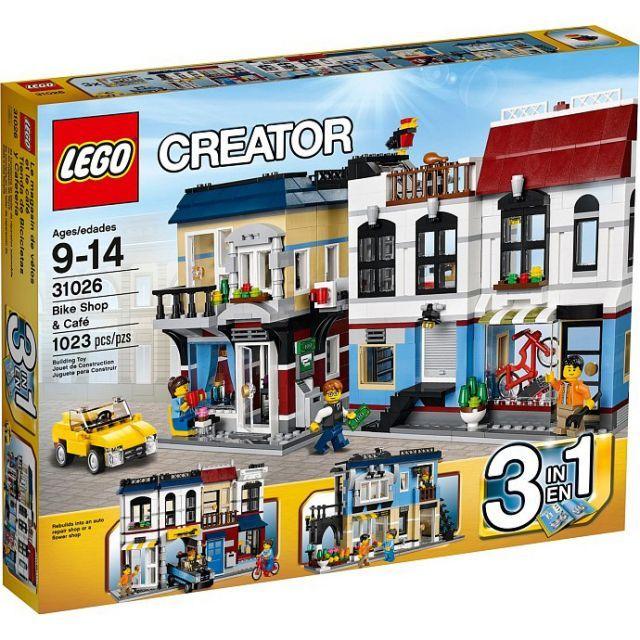 Đồ chơi LEGO 31026 Bike Shop