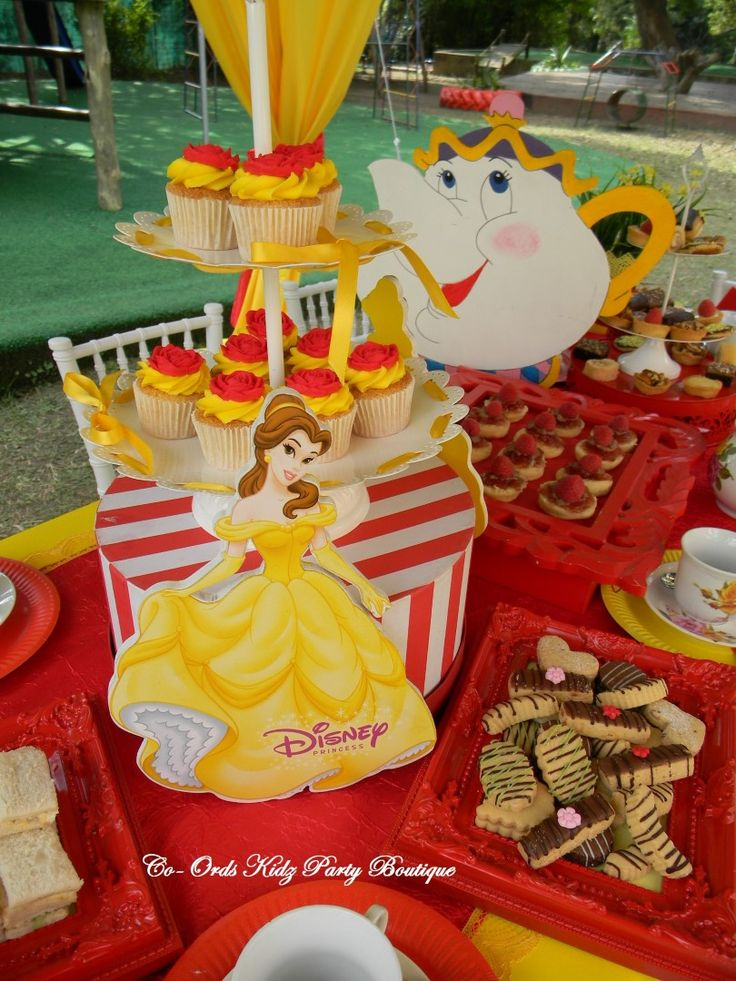 Beauty and the Beast - Princess Belle High Tea party by Co-Ords Kidz Party Boutique