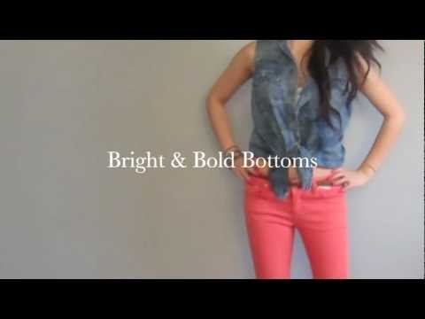 Style: Bright & Bold Bottoms Spring 2012 Trend