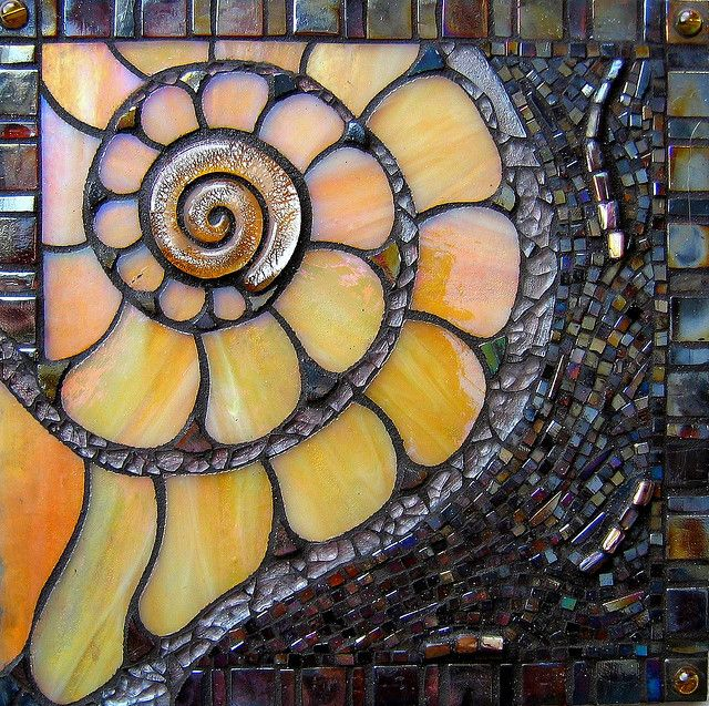 This would make a beautiful window corner Coquille ~ By Lin Schorr - I covet her work! She is so talented.