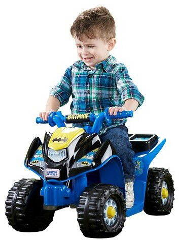 Power Wheels Fisher-Price Power Wheels Batman Lil' Quad (affiliate)