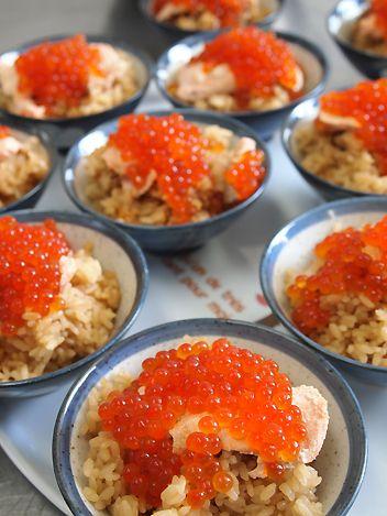 Harakomeshi - Salmon Roe Rice はらこ飯