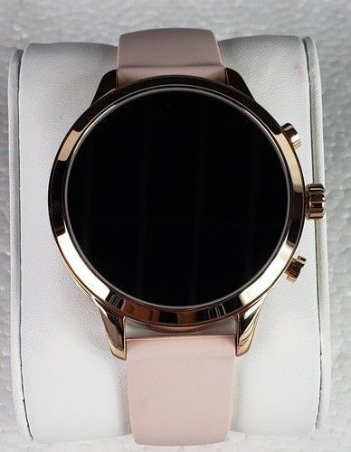 cd41f80f26e8 eBay  Sponsored Michael Kors MKT5048 Women s Access Runway Stainless Steel  Silicone Smart Watch