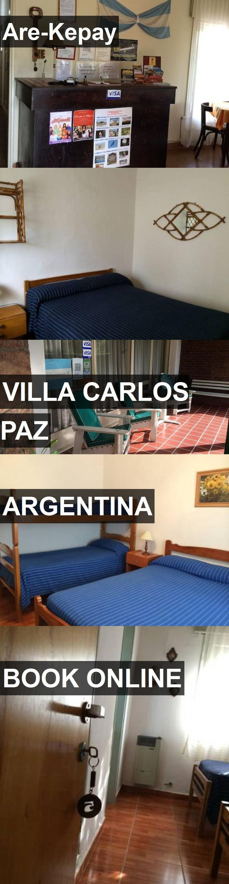 Hotel Are-Kepay in Villa Carlos Paz, Argentina. For more information, photos, reviews and best prices please follow the link. #Argentina #VillaCarlosPaz #travel #vacation #hotel