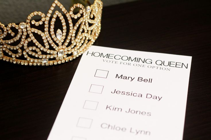 High School Homecoming Queen Campaign Ideas | High schools ...