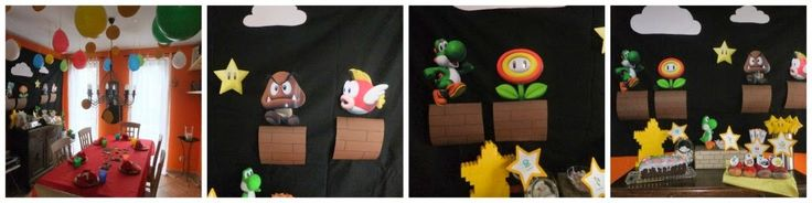 ber ideen zu mario geburtstagsparty auf pinterest mario party mario brothers und. Black Bedroom Furniture Sets. Home Design Ideas