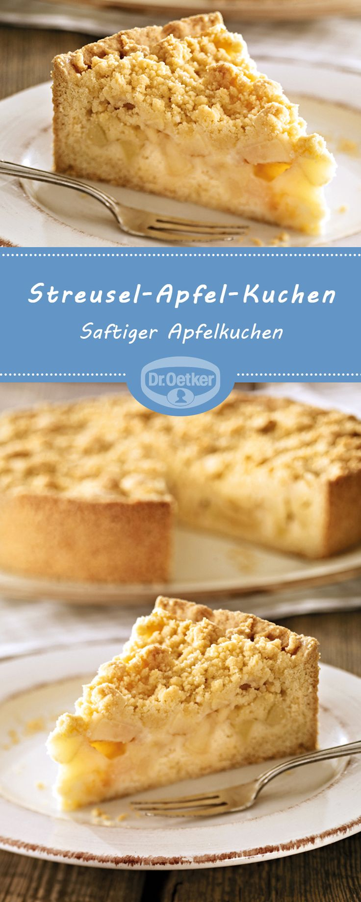Streusel-Apfel-Kuchen