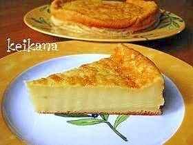 "☆ super easy sweet potato cake with sweet potato and HM  (Rakuten no.6 ""cake"" recipe)"