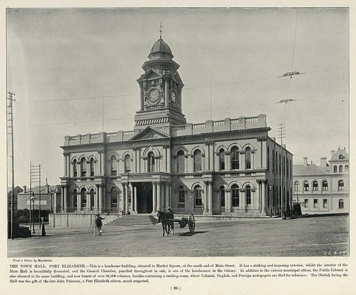 The Town Hall, Port Elizabeth | South Africa by The National Archives UK