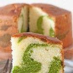 Ispanaklı Ebruli Kek
