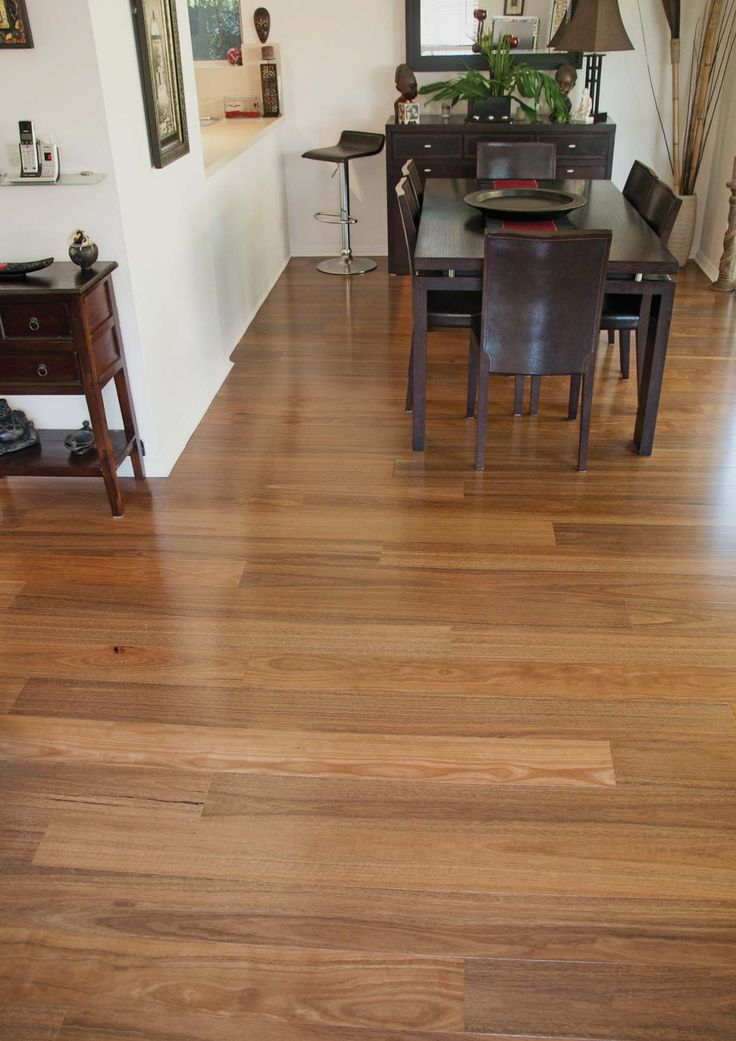 Naturally Australian Platinum timber flooring - Colour: Spotted Gum