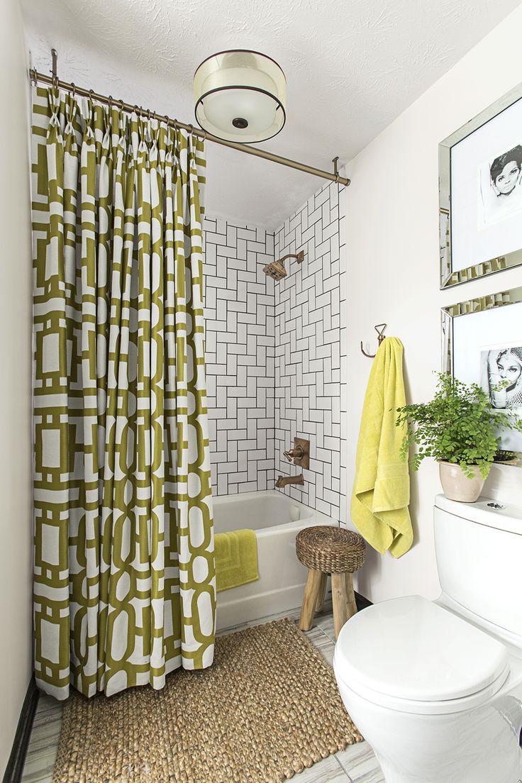 Bathroom tile designs one of 4 total snapshots metallic bathroom tile -  Designgoals For This Master Bath Upgrade That Didn T Break The Bank