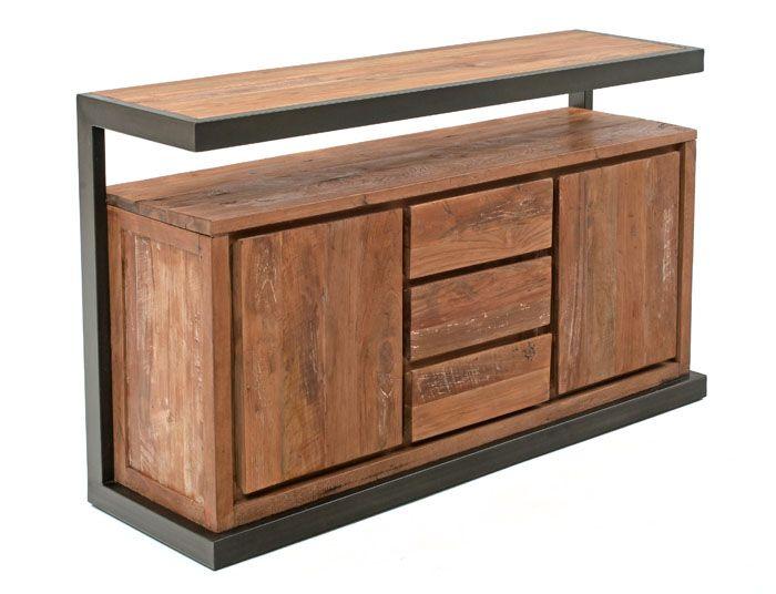 Modern Reclaimed Wood Sideboard by Woodland Creek.