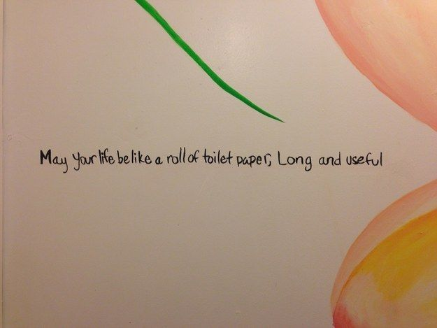 This one that basically says it all: | 26 Times Bathroom Graffiti Was Actually Perfect