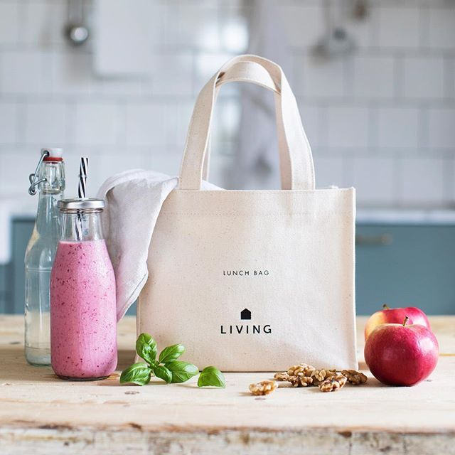 Pack your lunch is on our new Dermosil Lunchbag made of 100% cotton <3