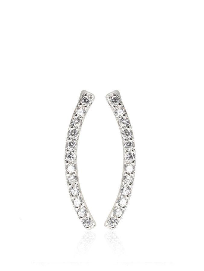 Samantha Wills - Azure Cuff Earrings - Silver - $89.00