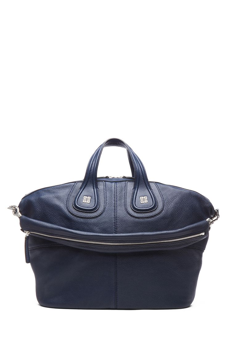 Givenchy, Nightingale Medium Satchel, Deep Blue (original design)