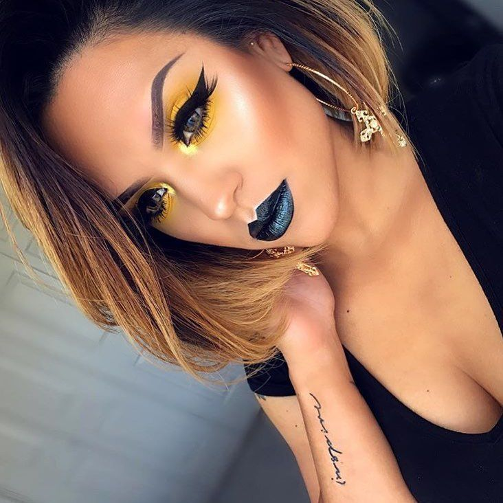 """1,064 Likes, 11 Comments - House of Beauty® (@houseofbeauty.co) on Instagram: """"@dmr319 is slayinggggg our Lip Hybrid™ ✨Dragon✨ 🐉 • Bold and beautiful 😍😍 • Shop link is in our bio…"""""""