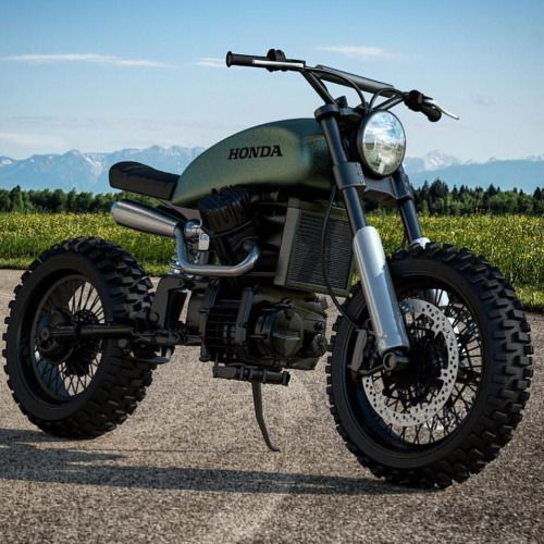 CX500 repost from SCRAMBLERS & TRACKERS