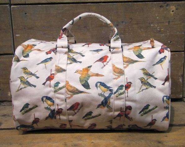 #FootPatrol - Herschel Bad Hills Collection Woodland #Birds Novel #Bag  || AcquireGarms.com