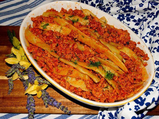"""""""Co w kredensie piszczy"""": Fasolka szparagowa z mięsem - szybki obiad"""