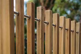 Image result for hardwood timber batten fence 1.2