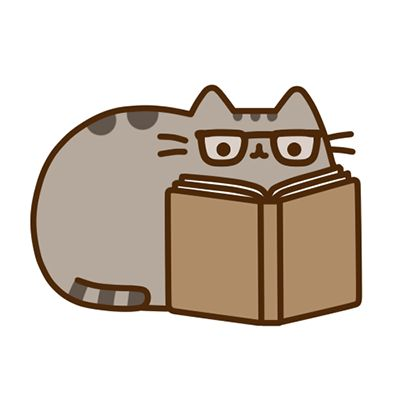 Cats and Books. (Pusheen the Cat)