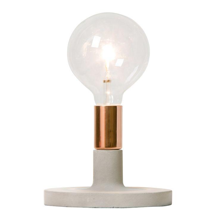 Linda lampefot, kobber i gruppen Belysning / Lamper / Nattbordlamper hos ROOM21.no (128490)
