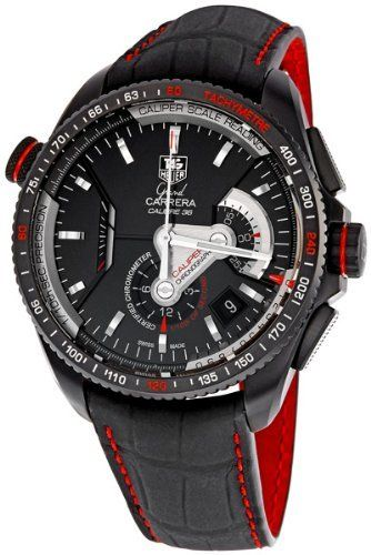 Tag Heuer Grand Carrera Mens Watch CAV5185.FC6237 from Tag Heuer @ TAG-Heuer-Watches .com