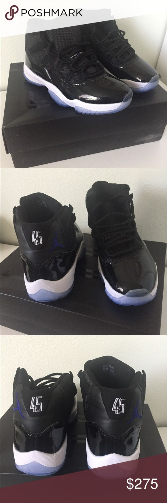 🆕✨Jordan Space Jam 11 Shoes Size 8 🔴2016 Release 🔴 Brand New didn't fit my uncle so selling for him. Still have original box, they are a really nice pair of Jordan's. Just want to get his money back so he can buy a bigger size. Air Jordan Shoes Athletic Shoes
