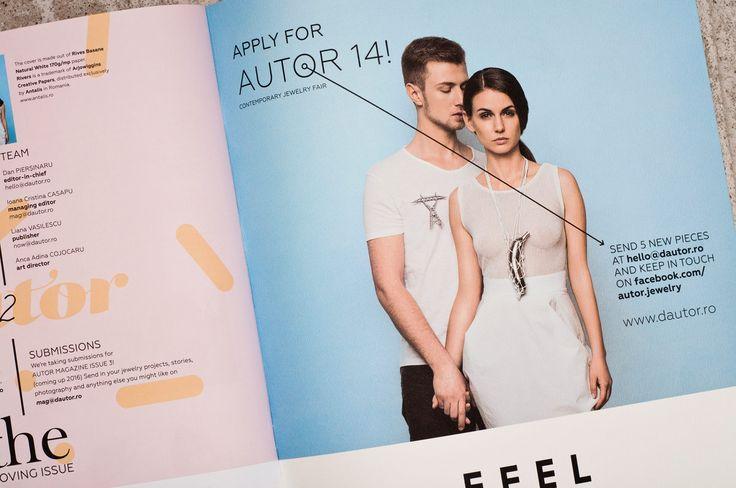 Autor Magazine #2 The Loving Issue  via FABRIK http://magazine.dautor.ro/