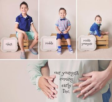 Just because you've already had one or two (or more) babies doesn't mean your latest addition shouldn't get a special announcement. Check out these cute ways big families announced they were getting even bigger.