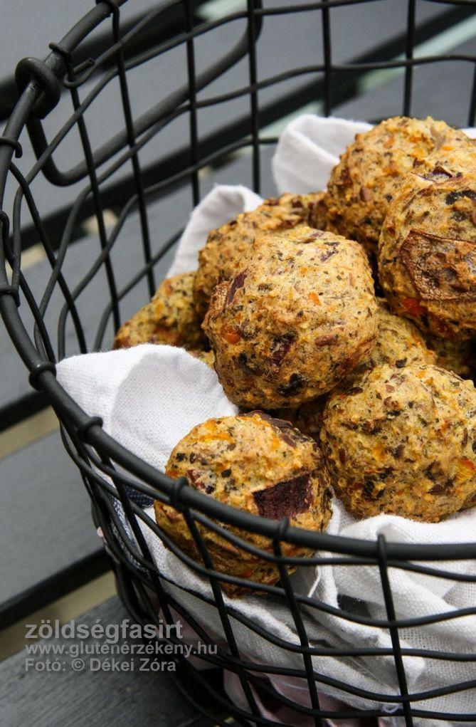 Útravaló zöldségfasírt Gluténmentes, IR barát, tejmentes recept