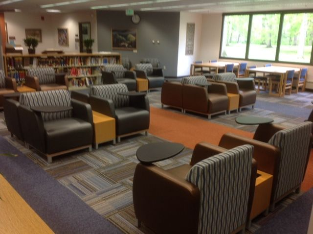 Law Library (Valparaiso, IN) Swift Lounge Seating With Swift Occasional