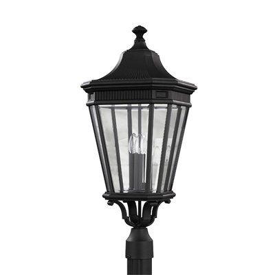 Feiss OL54 Cotswold Lane 3-Light Post Lantern