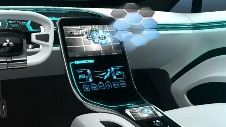 Mitsubishi Concept CA-MiEV İç Tasarım | Ulugöl Otomotiv Mitsubishi sayfası: www.ulugol.com.tr/mitsubishi.aspx