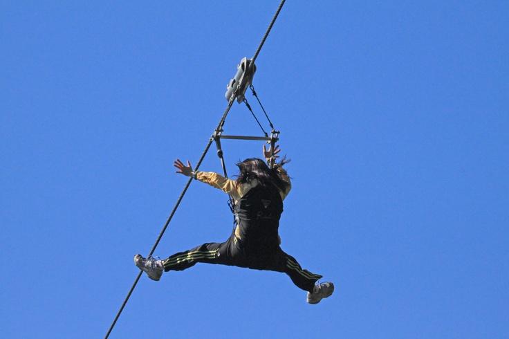 Zipline!! Clayoquot Wilderness Resort. www.wildretreat.com