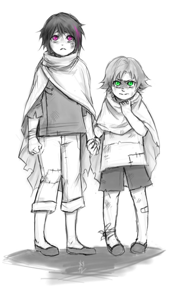 younger Ren and Nora <3 <3 <3
