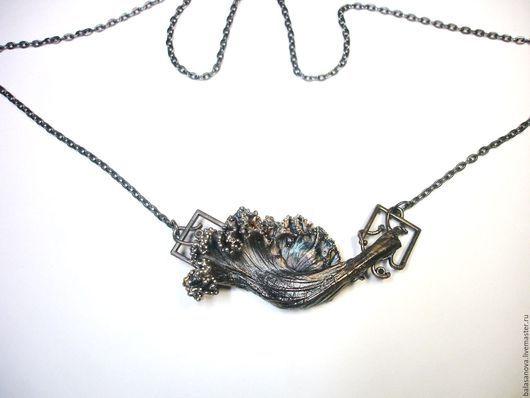 Кулоны, подвески ручной работы. Ярмарка Мастеров - ручная работа. Купить Подвес  Капуста, медь, серебрение, патина. Handmade. Комбинированный