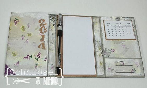 Stempeleinmaleins: Taschenkalender / pocket calendar