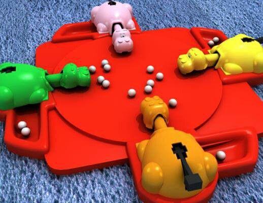 Hippos gloutons #toy || #80 #childhood #souvenir #memories #teenage #vintage || Follow http://www.pinterest.com/lcottereau/the-80s/
