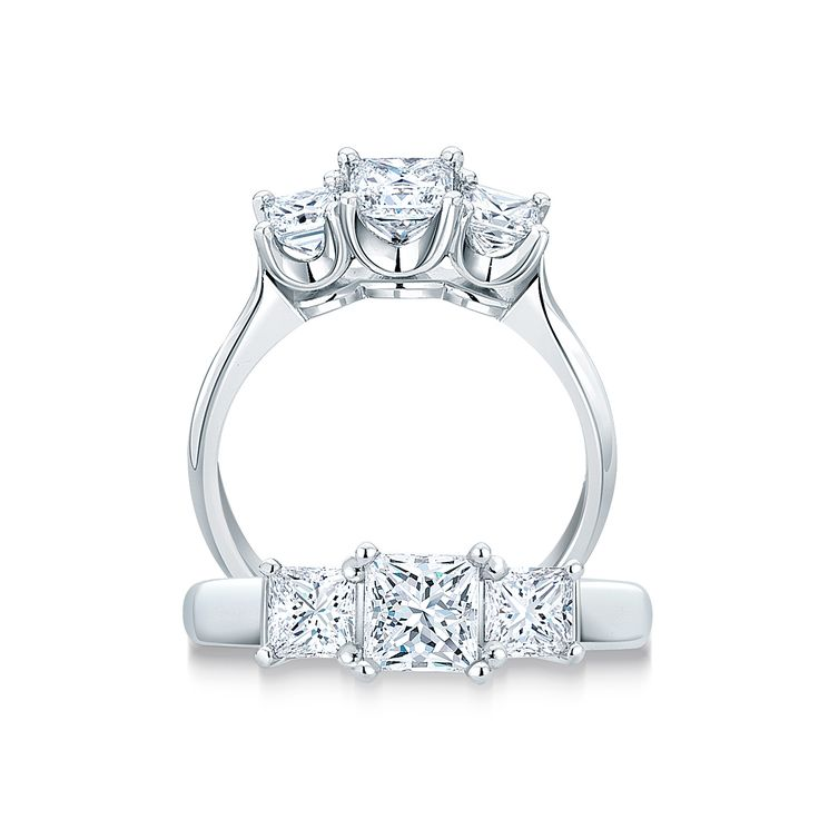 The 25+ Best Trilogy Engagement Ring Ideas On Pinterest