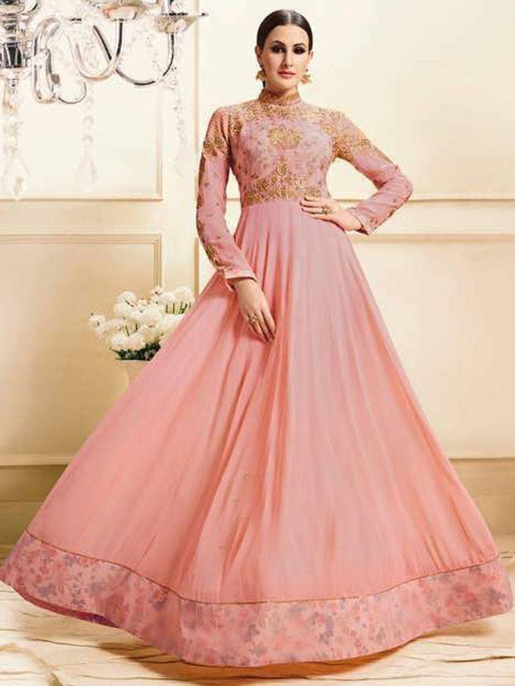 336 best Designer Gown 2017 images on Pinterest   Anarkali dress ...