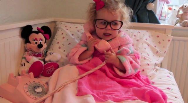 Baby Glitter, Darcy. SprinkleofGlitter, Louise's daughter