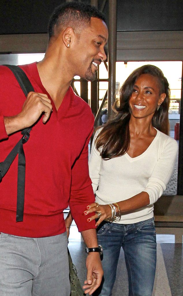 Flying the Friendly Skies from Will Smith & Jada Pinkett Smith's Sweetest Pics | E! Online